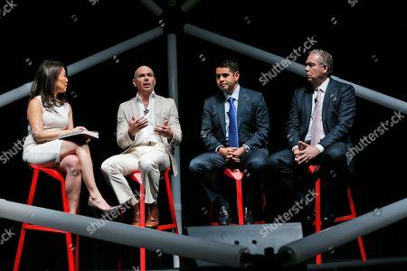 Editorial picture of People Pitbull, Miami Beach, USA