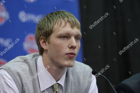 Kyle Singler Detroit Pistons draft pick forward Kyle Singler of Duke addresses the media at the team's practice facility in Auburn Hills, Mich