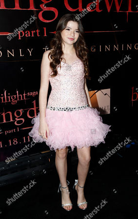 """Jadin Gould Jadin Gould arrives at the world premiere of """"The Twilight Saga: Breaking Dawn - Part 1"""", in Los Angeles"""