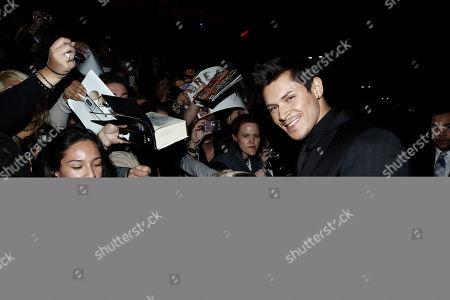 "Stock Image of Alex Meraz Alex Meraz arrives at the world premiere of ""The Twilight Saga: Breaking Dawn - Part 1"", in Los Angeles"