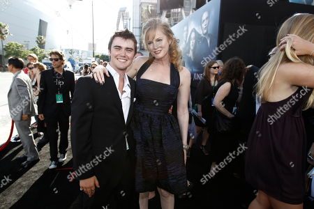 "Stock Photo of Cameron Bright, left, and Melissa Rosenberg, right, arrive at the premiere of ""The Twilight Saga: Eclipse"" on in Los Angeles"