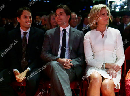 Ann Romney, Craig Romney, Tagg Romney Ann Romney, right, is seated with Tagg Romney, center, and Craig Romney before the start of the first presidential debate with President Barack Obama and Republican presidential candidate in Denver