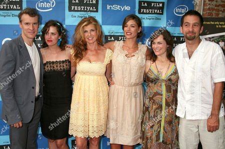 Stock Image of Tate Donovan, Ione Skye, Connie Britton, Caitlin Keats, Sarah Clarke and Dave Herman