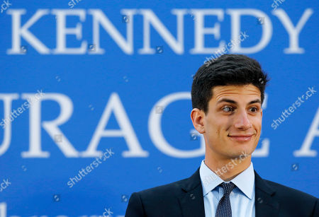 Jack Schlossberg Jack Schlossberg reacts to an audience member during the John F. Kennedy Profile in Courage Award ceremony at the John F. Kennedy Presidential Library in Boston
