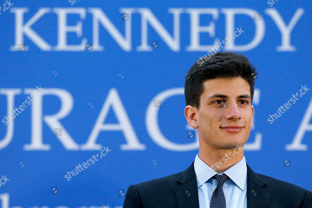 Jack Schlossberg Jack Schlossberg sits on stage during the John F. Kennedy Profile in Courage Award ceremony at the John F. Kennedy Presidential Library in Boston