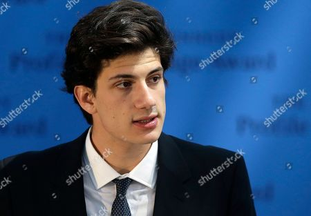 Jack Schlossberg Jack Schlossberg, grandson of John F. Kennedy, addresses an audience during ceremonies for the 2015 Profile in Courage Award, at the John F. Kennedy Library and Museum, in Boston. Former U.S. Rep. Bob Inglis, R-S.C., was awarded the prize for reversing his position on climate change