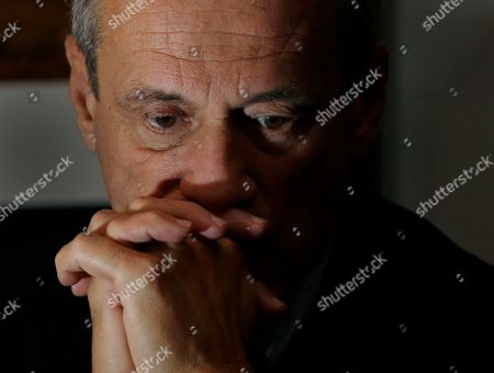 Larry Lucchino Boston Red Sox baseball President and CEO Larry Lucchino reacts during an interview at Fenway Park in Boston, hours after the team announced that Manager Bobby Valentine will not return in 2013. The Red Sox finished their season in last place for the first time in 20 years