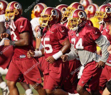 Editorial image of Redskins Camp Football, Ashburn, USA