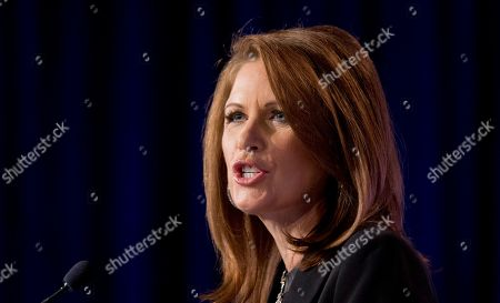 Michele Bachmann Rep. Michele Bachmann, R-Minn. speaks at the 2014 Values Voter Summit in Washington, . Prospective Republican presidential candidates are promoting religious liberty at home and abroad at a gathering of evangelical conservatives, rebuking an unpopular President Barack Obama while skirting divisive social issues that have tripped up the GOP