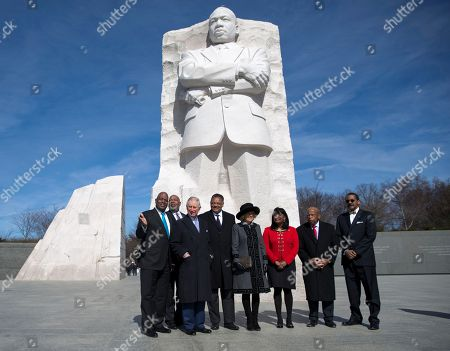 Prince of Wales, Duchess of Cornwall, Jesse Jackson, Terri Sewell, John Lewis, D-Ga., Harry Johnson, Guy Vickers From left, Harry Johnson President and CEO of the Washington, D.C. Martin Luther King, Jr. National Memorial Project Foundation, Inc., Guy Vickers, President of the Tommy Hilfiger Corporate Foundation, Britain's Prince Charles, Rev. Jesse Jackson, Camilla, the Duchess of Cornwall, Rep. Terri Sewell, D-Ala., Rep. John Lewis, D-Ga., and Ed Jackson Jr., Executive Architect tour the Martin Luther King, Jr. Memorial in Washington