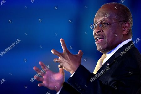 Herman Cain Herman Cain gestures as he speaks during the Faith and Freedom Coalition Road to Majority 2013 conference, in Washington. During the three-day conference, religious conservatives have been skeptical of the RNC's plan for growth, which calls for more tolerant attitudes on immigration and social issues, such as abortion and gay marriage