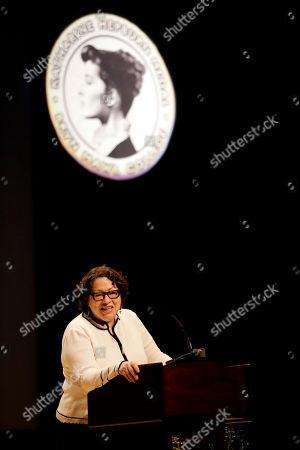 Editorial image of Sotomayor Hepburn Medal, Bryn Mawr, USA