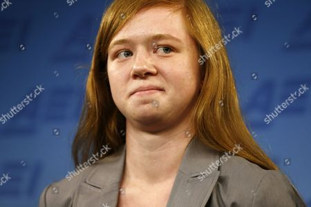 """Abigail Fisher Abigail Fisher, who sued the University of Texas when she was not offered a spot at the university's flagship Austin campus in 2008, stands at a news conference at the American Enterprise Institute in Washington, . The U.S. Supreme Court ruling on affirmative action in higher education will have """"no impact"""" on the University of Texas' admissions policy, school president Bill Powers said Monday, noting UT will continue to use race as a factor in some cases"""