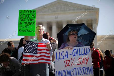 Editorial picture of Supreme Court Health Care, Washington, USA