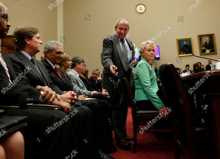 Rhonda Smith, Eddie Smith, James Lentz Rhonda Smith and her husband Eddie Smith, center, of Sevierville, Tenn. arrive on Capitol Hill in Washington, to testify before the House Oversight and Investigations subcommittee hearing, about her Lexus' apparent sudden acceleration At Lleft is James E. Lentz, president and chief operating officer for Toyota Motor Sales, USA, Inc