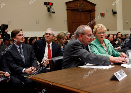 Rhonda Smith, Eddie Smith, James Lentz Rhonda Smith and her husband Eddie Smith, center, of Sevierville, Tenn. prepare to testify on Capitol Hill in Washington, before House Oversight and Investigations subcommittee. A left is James E. Lentz, president and chief operating officer for Toyota Motor Sales USA, Inc