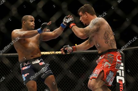 Frank Mir, Daniel Cormier Frank Mir, right, fights Daniel Cormier during a UFC heavyweight mixed martial arts fight in San Jose, Calif., . Cormier won by unanimous decision