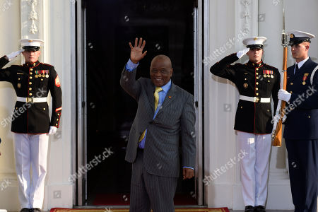 Thomas Thabane Motsoahae Thomas Thabane, Prime Minister of Lesotho arrives for a dinner hosted by President Barack Obama for the U.S. Africa Leaders Summit, . African heads of state are gathering in Washington for an unprecedented summit to promote business development