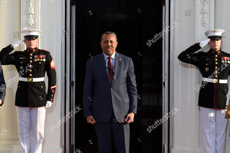 Peter Selfridge, Abdullah al-Thinni Prime Minister of Libya Abdullah al-Thinni arrives for a dinner hosted by President Barack Obama for the U.S. Africa Leaders Summit, . African heads of state are gathering in Washington for an unprecedented summit to promote business development