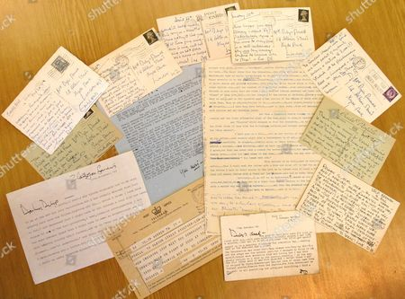 Letters sent by Dirk Bogarde