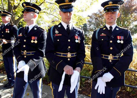 Editorial photo of Veterans Day Biden, Arlington, USA