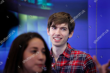David Karp David Karp, Founder and CEO of Tumblr, reacts before the opening bell at Nasdaq, in New York. Yahoo acquired the online blogging forum for $1.1 billion in June. Tumblr will remain independently operated and Karp will stay CEO