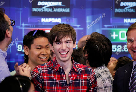 David Karp David Karp, center, Founder and CEO of Tumblr, reacts during the opening bell at Nasdaq, in New York. Yahoo acquired the online blogging forum for $1.1 billion in June. Tumblr will remain independently operated and Karp will stay CEO