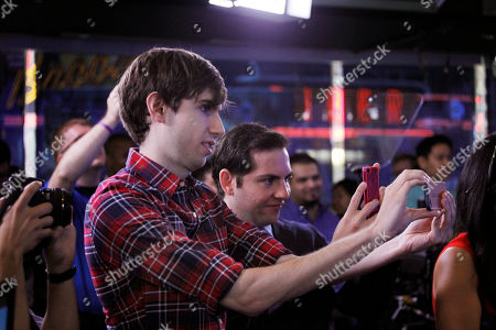 David Karp David Karp, Founder and CEO of Tumblr, takes photos before the opening bell at Nasdaq, in New York. Yahoo acquired the online blogging forum for $1.1 billion in June. Tumblr will remain independently operated and Karp will stay CEO