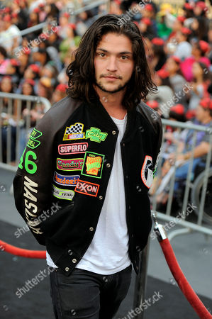 "Thomas McDonell Thomas McDonell arrives at the World Premiere of ""Pirates of the Caribbean: On Stranger Tides"" at Disneyland in Anaheim, Calif., on"