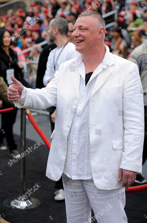 """Stock Photo of Ian Mercer Ian Mercer arrives at the World Premiere of """"Pirates of the Caribbean: On Stranger Tides"""" at Disneyland in Anaheim, Calif., on"""