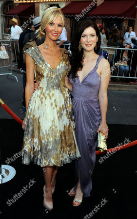 "Vanessa Branch, Lauren Maher Vanessa Branch, left, and Lauren Maher arrive at the World Premiere of ""Pirates of the Caribbean: On Stranger Tides"" at Disneyland in Anaheim, Calif., on"