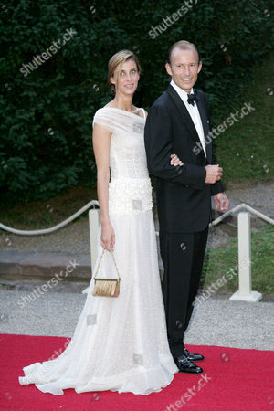 Princess Rosario Nadal and Prince Kyril