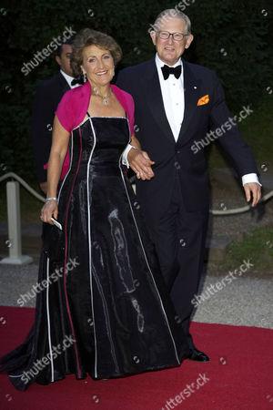 Princess Margriet with Pieter Van Vollenhoven Sohngen