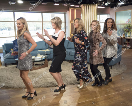 Amanda Holden, Ruth Langsford, Angela Griffin, Tamzin Outhwaite, Tracy-Ann Oberman and Nicola Stephenson