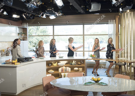 Stock Picture of Amanda Holden, Ruth Langsford, Angela Griffin, Tamzin Outhwaite, Tracy-Ann Oberman and Nicola Stephenson