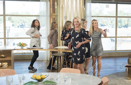 Stock Photo of Amanda Holden, Ruth Langsford, Angela Griffin, Tamzin Outhwaite, Tracy-Ann Oberman and Nicola Stephenson