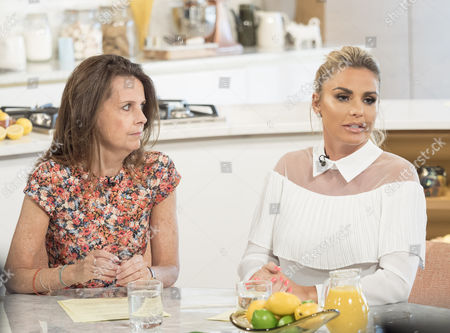 Lucy Beresford and Katie Price