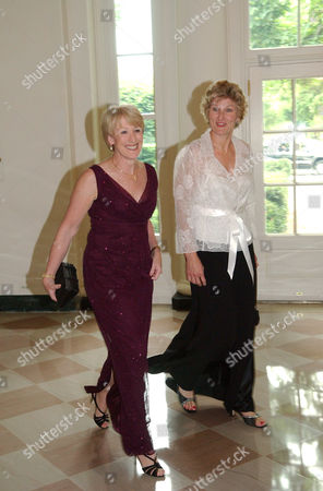 Stock Picture of Anne M. Mulcahy, CEO Xerox Corporation, and Karen Hughes