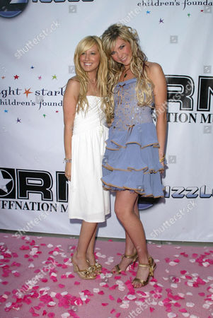 Ashley Tisdale and Kristy Frank
