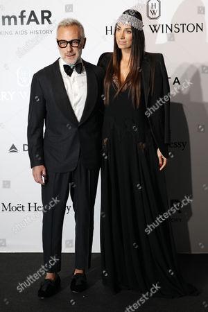 Gianluca Vacchi and Giorgia Gabriele
