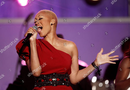 Angel Taylor Angel Taylor performs during the 54th annual GRAMMY Awards pre-show on in Los Angeles