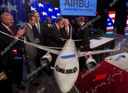Editorial photo of Airbus Alabama, Mobile, USA