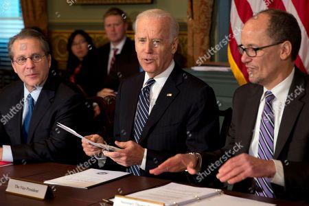 Editorial photo of Biden, Washington, USA