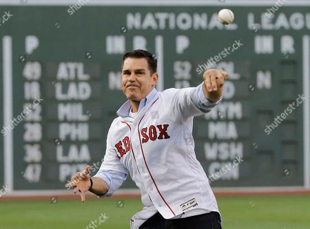 Billy Bean Billy Bean, former Major League ballplayer and current MLB Vice President, Social Responsibility & Inclusion, throws a ceremonial first pitch before a baseball game between the Boston Red Sox and the Toronto Blue Jays at Fenway Park, in Boston