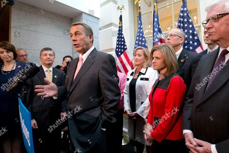 Editorial picture of Budget Battle Boehner, Washington, USA