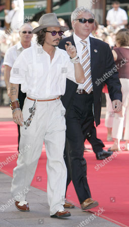 Johnny Depp and Jerry Judge