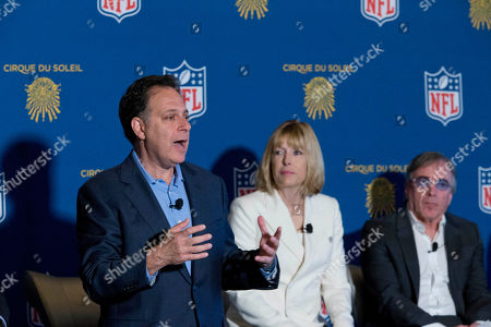 Editorial picture of Cirque Du Soleil NFL, New York, USA