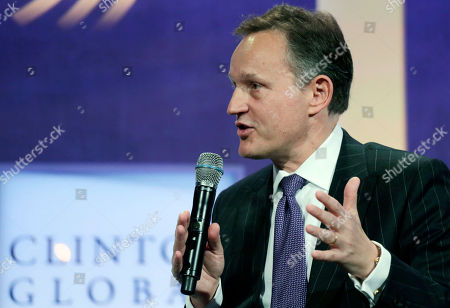 """Antony Jenkins Antony Jenkins, Group Chief Executive of Barclays, participates in a seminar, """"Creating Business at the Base of the Pyramid,"""" at the Clinton Global Initiative, in New York"""