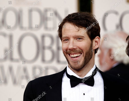 """Aaron Ralston, the hiker whom the film """"127 Hours"""" is based, arrives at the Golden Globe Awards, in Beverly Hills, Calif"""
