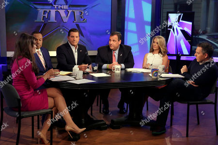 Editorial picture of GOP 2016 Christie, New York, USA